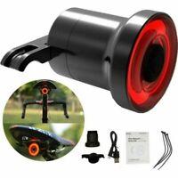 Xlite100 Smart Bici LED Fanale posteriore LED Ricaricabile USB Sensore freno IT