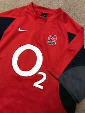 NIKE DRI-FIT ENGLAND RUGBY UNION SHIRT L LARGE