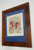 Jon Higgins Original Watercolor Kentucky Derby Triple Crown Winners 1875-1981