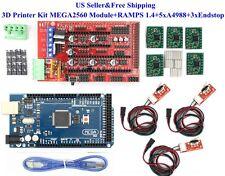 3D Printer Kit MEGA2560 Module+RAMPS 1.4+5xA4988+3xEndstop For Arduino RepRap