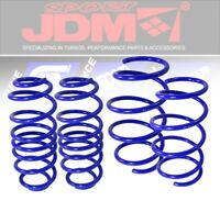 JDMSPORT 08-11 HONDA ACCORD SUSPENSION LOWER LOWERING DROP SPRINGS COIL KIT BLUE