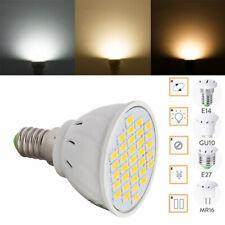 Dimmable GU10 MR16 E27 LED Spot Light Lamp 5730 SMD Bulb E14 Energy Saving RC40