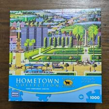 Hometown Collection Jigsaw Puzzle - 1000 - Union Square - Complete ~ Heronim