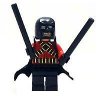 Red Robin Minifigure DC Super Heroes Figure For Custom Lego Minifig  15