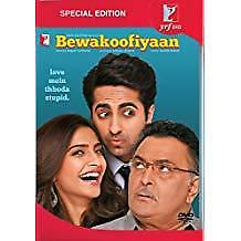 Bewakoofiyaan Dvd (2014) Bollywood Romantic Comedy Movie 2-Disc Special Edition