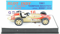 Ostorero Watson Offenhauser - Bobby Grim - 1961 Indy 500 1/32 Slot Car ODG 005