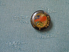 OLYMPIC COUNCIL OF MALAYSIA - METAL OLYMPIC GAMES PIN BADGE