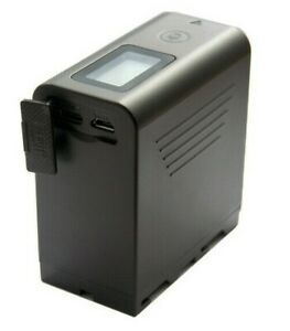 NP-F970 NP-F980,JYJZPB 7800mAh LCD Battery