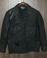 VTG Polo Ralph Lauren Waxed Cotton Hunting Jacket LARGE Shooting Jacket