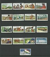 Transkei 1976 Local Views set of 17  Complete MUH/MNH as issued