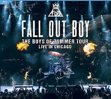 Fall Out Boy: The Boys of Zummer Tour Live In Chicago (Blu Ray) New & Sealed
