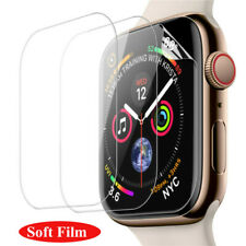 1-2pcs Full Cover Screen Protector For Apple Watch Series 5 4 iWatch 40MM 44MM