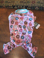 Simply Wag *sz M* Donuts dog Pajamas Pj pink other colors Sweet Valentine Pup