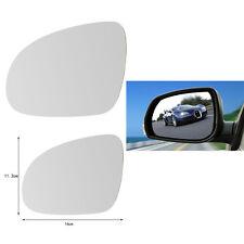 Left Door Side Mirror Glass Heated / Holder For VW Golf Jetta GTI MK5 Passat Hot