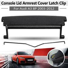 For 2003-2012 Audi A3 8P Armrest Center Console Cover Lid Latch Clip Catch Black
