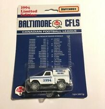 1994 Limited Edition Matchbox Baltimore Stallions Colts Collectible Pickup Truck