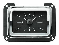 VLC 40 Ford Analog Clock (SIL/BLUE, SIL/RED, BLK/BLUE, BLK/RED)