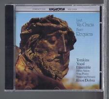 LISZT CD NEW VIA CRUCIS/ FAURE: REQUIEM  JANOS DOBRA / TOMKINS VOCAL ENSEMBLE