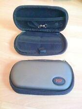 PLAYSTATION PORTABLE PSP PROTECTIVE CASE IN GREY WITH STORAGE COMPARTMENTS NEW