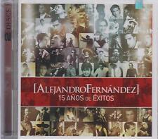 Alejandro Fernandez CD NEW 15 Anos De Exitos CD + DVD ALBUM Con 29 Canciones !