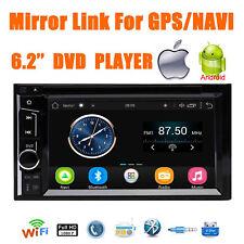2 Din Car DVD Digital Media Radio Bluetooth 6.2 Inch Mirror Link For IOS Andriod