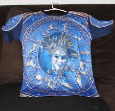 Goth Loli 12 Zodiac Signs Picture Shirt T Shirt T-Shirt Men Women Rare Vampire L