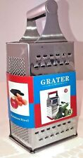 NEW  6-Sided Grater  Stainless Steel