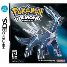 Pokemon Diamond Version Nintendo DS 3ds Catch Train Sinnoh