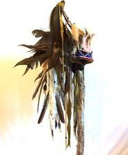 Horned War Bonnet, Fierce, Rugged, Finest in Tribal Display!