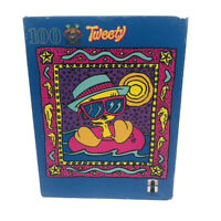Tweety Bird 100 Piece Puzzle Caribbean Breeze Rainbow Works Vintage