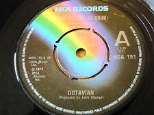 "OCTAVIAN - GOOD FEELING (TO KNOW)  7"" VINYL DEMO"