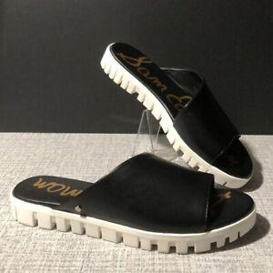 Black Sam Edelman Leia Slide Sandals - 7