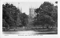BR77410 westminster abbey from st james park   real photo  london  uk