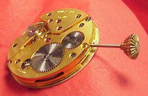 VINTAGE ARNEX UNITAS 6498 RUNNING KEEPING TIME POCKET WATCH MOVEMENT 36MM