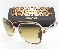 NEW Roberto Cavalli sunglasses RC1012 34F 61mm Bronze Brown Gradient AUTHENTIC