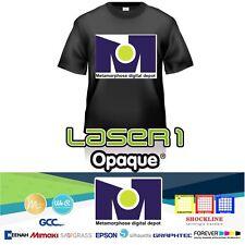 "NEW Neenah Laser 1 Opaque Laser Paper for Dark Garments- 8.5""x11"" - 10 Sheets/Pk"