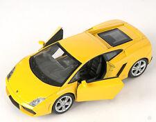 BLITZ VERSAND Lamborghini Gallardo LP560-4 gelb Welly Modell Auto 1:34 NEU OVP 0