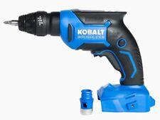NEWKobalt 24V Li-Ion Brushless Screwgun #1260305 Model# KDS 124B-03 (TOOL ONLY)