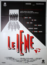 Movie Posters 100x140 cm - Reservoir Dogs - Quentin Tarantino - Le Iene