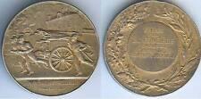 Médaille de table - LA FONCIERE pompiers argent/silver 38 gr d=41mm Alphée DUBOI