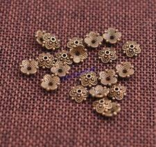 100PCS Tibetan Silver Flower Bead Caps Spacer beads Charm Findings 8MM JK3113