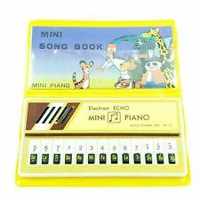 Mini Piano Electron Echo Mini Cancionero Vintage En empaque de 80 '
