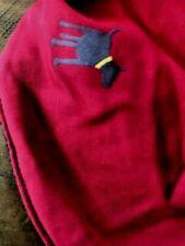 Pets At Home Red Rain Coat / Jacket Showerproof Fleece Lining Size M