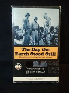 The Day the Earth Stood Still (1951) Beta Betamax Cassette Classic Sci-Fi 1978