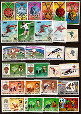 KOREA Stamps and block : All the disciplines sports olympic C81
