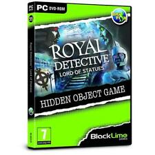 Royal Detective Lord of Statues Hidden Object Game - PC DVD - New & Sealed