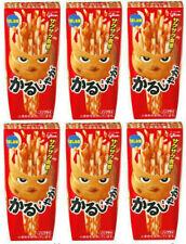 NEW! Glico Karu Jaga salt sticks x6 packs / Direct Japan!