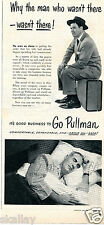 1951 Print Ad of Pullman Train it's good business to go Pullman above all safe