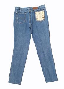 Vintage 1980s F.U.'S Jean Machine Co Cowboy Style Jeans w/ Tags - W36 L30