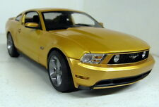 Greenlight 1/18 Scale 01673 2010 Ford Mustang GT Gold Metallic Diecast model car